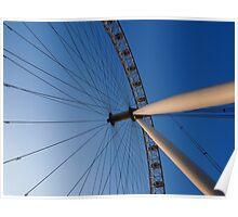 London Eye, London Poster