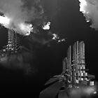 ©DA HCS The Towers IA Monochromatic by OmarHernandez