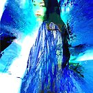 Widow with Shawl by Seth  Weaver