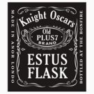 [STICKER] Dark Souls - Knight Oscar's Old Plus 7 Estus Flask by carnivean