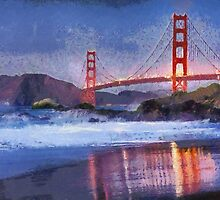 Golden Gate by regoart