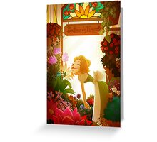 flower shop Greeting Card