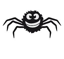 Cute Funny Spider Design by Style-O-Mat