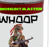 Dinohuntmaster Whoop Ass Collection! Sticker