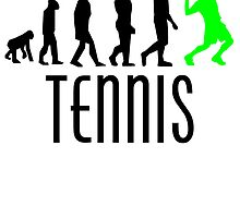 Tennis Evolution (Green) by kwg2200