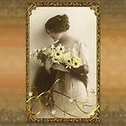 Vintage Design ~Flower Lady~ Smartphone by scatharis