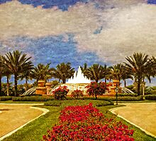 Fiddler's Creek Fountain at Noon by ImageFiddler