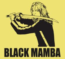 Black Mamba- black by Buby87