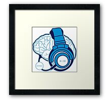 Brain-Sync Framed Print