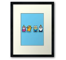 Minion Time Framed Print