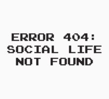 404 Error : Social Life Not Found by BrightDesign