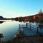 Landing stage at lake Url by Patrick Jobst