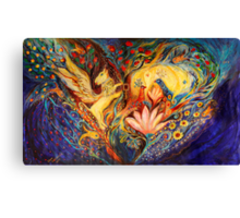 The Golden Griffin Canvas Print