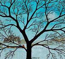 OLD ELM TREE by RainbowArt