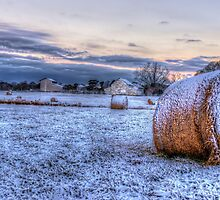 Winter At The Farm by Kyle Wilson