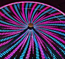 Ferris Wheel Close Up by tvlgoddess