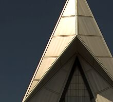 Air Force Academy Cadet Chapel (Exterior 1)  by WestbrookArts