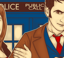 Doctor Who - Partners in Crime Sticker