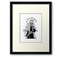 People are sheep Framed Print