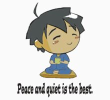 Tomoki peace and quiet.  by calderonart