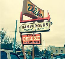 Dick's burger sign by graetkel