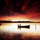 Pelicans Boat by Arfan Habib