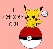 Pokemon Pikachu Valentine's Day Design! (Pink) by charsheee