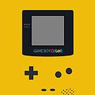 [Case] Gameboy Color - Dandelion Yellow by carnivean