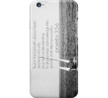 Trust Lord Proverbs 3 iPhone Case/Skin
