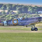Spitfire VB Scramble - Shoreham Airshow 2013 by Colin J Williams Photography