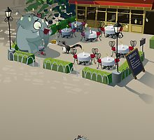 Mr. Elephant & Mr. Mouse Bistro by Glenn Melenhorst