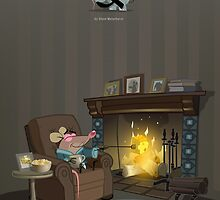 Mr. Elephant & Mr. Mouse toasty by Glenn Melenhorst