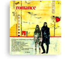 Romance Valentine Canvas Print