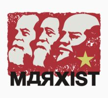Marx, Lenin and Engels Marxist Sticker by NeoFaction