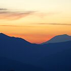 Sunrise from Mount Rainier  by Loisb