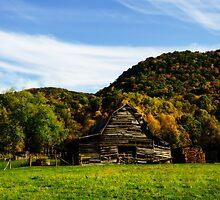 Smoky Mountain Barn by JKKimball