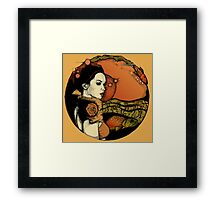 Patron Saint of Shallow Water Framed Print