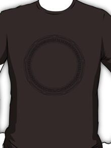 The Stargate black ink T-Shirt