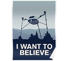 My I want to believe minimal poster-war_of_the_worlds Poster
