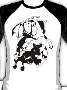 Charmander Evolution Line T-Shirt