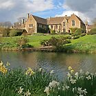 Great Chalfield in Springtime by RedHillDigital