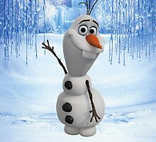 Frozen Olaf by N1K0VE