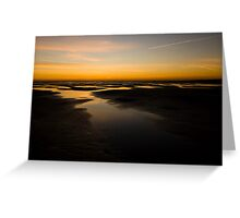 Donna Nook Dawn Greeting Card
