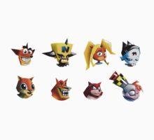 Crash Bandicoot icons by infa2ation