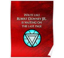 Robert Downey Jr. is Waiting Poster
