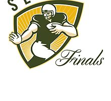 American Football Series Finals Shield by patrimonio