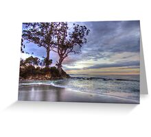 Two Tree Point, Adventure Bay, Bruny Island, Tasmania, Australia Greeting Card