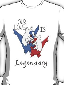 Pokemon Latios & Latias Valentine's [Apparel & Transparent] T-Shirt