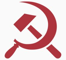 Hammer and Sickle Stencil Stickers by NeoFaction