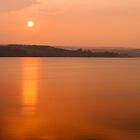 Sunset Derwent Reservoir by David Lewins